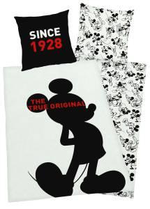 Mickey Mouse 90 Jahre Bettwäsche 135x200cm, Renforce