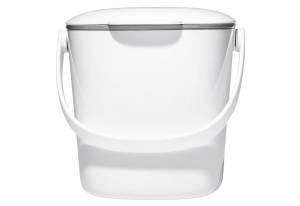 OXO Küchenabfalleimer 2,8 Liter weiß
