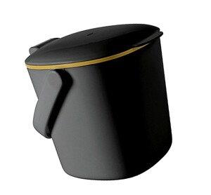OXO Küchen-Kompostabfalleimer grau
