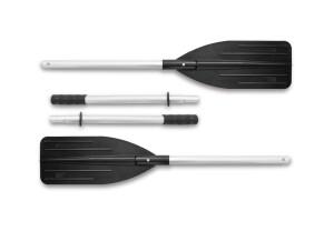 Intex Aluminium Paddel-Set schwarz 137cm, 2-teilig