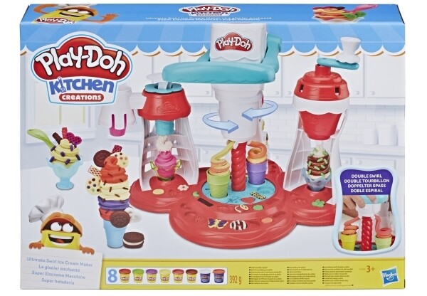 Play-Doh Knetset Super Eiscreme Maschine