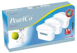 "PEARLCO Filterkartusche ""Unimax"", 3er Pack"