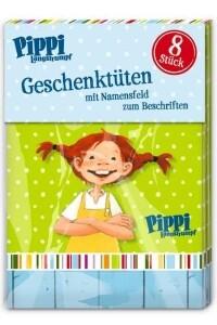 Pippi Langstrumpf Geschenktüten, 8 Stück