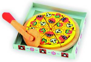 Pizza zum Schneiden