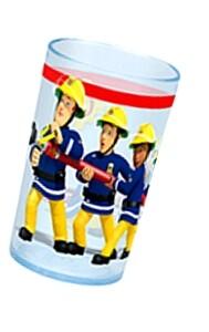 Feuerwehrmann Sam Trinkglas 200 Milliliter