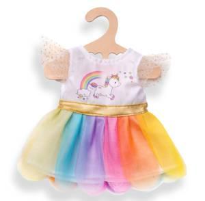 """Puppen-Einhorn-Kleid """"Henri"""", Größe ca. 28-35 cm"""