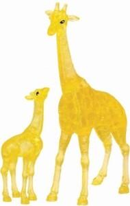 3D Puzzle Crystal Giraffenpaar 38 Teile