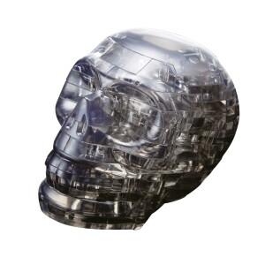 Puzzle  3D Crystal Schädel schwarz 49Teile