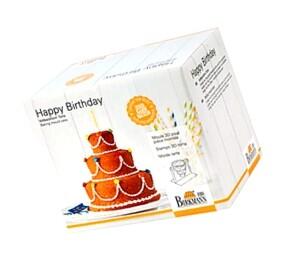 """RBV Birkmann 3D-Vollbackform """"Happy Birthday"""""""