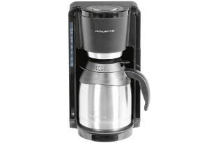 Rowenta Kaffeemaschine 1,25 Liter schwarz CT 3818, 800 Watt
