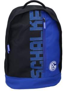 FC Schalke 04 Rucksack 46 x 32 x 18 cm, schwarz, blau