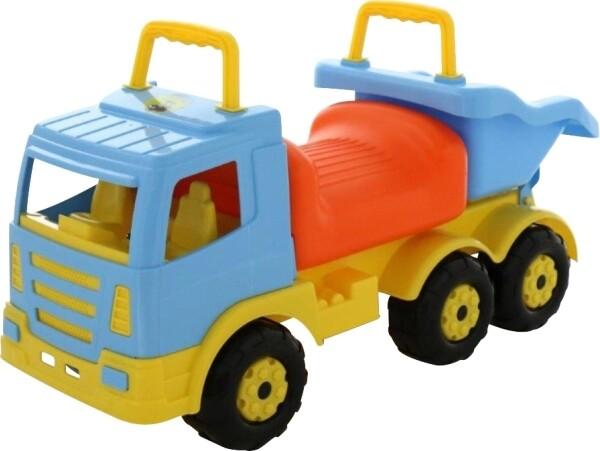 Rutscher - LKW mit Kipplade