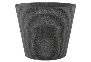 Scheurich Pflanztopf Coneo schwarz-granit 10 Liter
