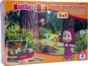 Mascha und der Bär 3-in-1, Bühne frei für Mascha