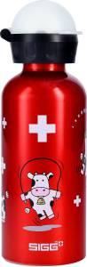 SIGG Trinkflasche Kids Bottles 0,4 l Lustige Kuh