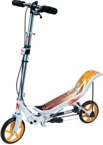 Space Scooter X580 weiß/orangefarben