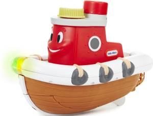 Badewannenspielzeug Schaumboot Sparkle Bay