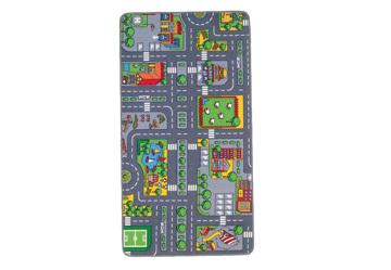 Spielteppich City 120x80cm