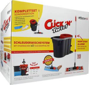 """Bodenwischer-Set """"Click 'N' Twist"""" 5-teilig"""