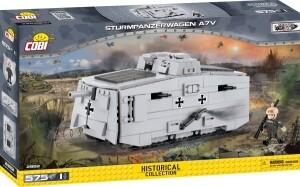 Sturmpanzerwagen A7V 12,5 x 26,5 cm