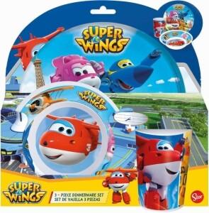 Super Wings Frühstücksset 3-teilig