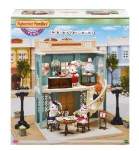 """Sylvanian Families Gourmetrestaurant """"Zur goldenen Perle"""""""