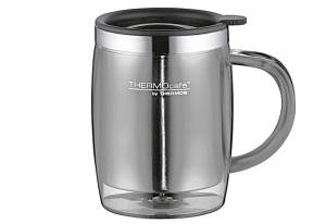"Thermos Trinkbecher ""Desktop Mug"" grau"