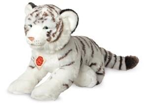 Hermann Collection Tiger weiß liegend, ca. 40cm