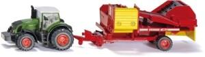 Spielzeug Traktor mit Kartoffelroder