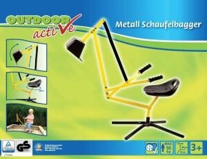 Outdoor active Digger Kinderbagger 360° drehbar