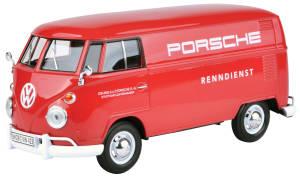 """VW T1 rot """"Porsche Renndienst"""""""