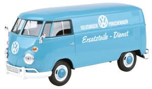 """VW T1 taubenblau """"VW Ersatzteil Dienst"""""""