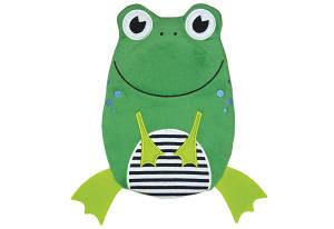 HUGO FROSCH Wärmflasche Frosch grün