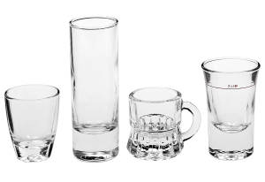 """Schnapsgläser, 6er Set, ca. 20 ml, Wellco, """"Dublin"""""""