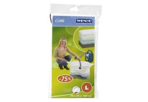 """Wenko Vakuum Aufbewahrungssystem """"Cube"""" L"""