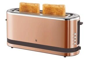 WMF Toaster Langschlitz kupferfarben 36x11x17cm, 900 Watt
